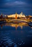 Kremlin. Mosca. La Russia immagini stock libere da diritti