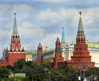 kremlin moscow Arkivbild