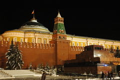 The Kremlin, Moscow. The Kremlin in Moscow with the tomb of Lenin stock photography