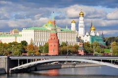 kremlin moscow Royaltyfria Foton