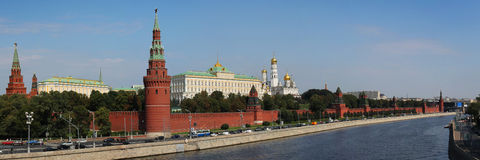 Kremlin in Moscow royalty free stock photo