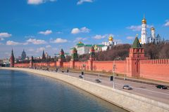 Kremlin. Moscow. City. Outdoor, day stock images