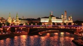 kremlin moscow stock video