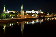 Kremlin in the Moscow close up Stock Photography