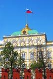 kremlin moscow Den stora Kremlslotten Royaltyfri Bild