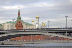 kremlin moscow Färgfoto Royaltyfri Bild