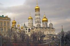 kremlin moscow Färgfoto Royaltyfri Foto