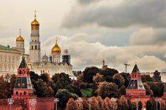 kremlin moscow Färgfoto royaltyfria foton