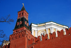 kremlin moscow Färgfoto Arkivfoto