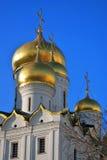 kremlin moscow Färgfoto 19th för domkyrkaårhundrade för annunciation 17 kharkov för stad landmark ukraine Royaltyfri Bild