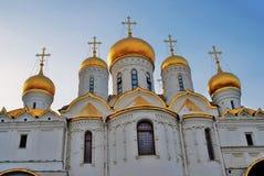 kremlin moscow Färgfoto 19th för domkyrkaårhundrade för annunciation 17 kharkov för stad landmark ukraine Royaltyfri Foto