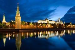 kremlin moscow flodtorn Fotografering för Bildbyråer
