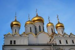 kremlin moscow Färgfoto 19th för domkyrkaårhundrade för annunciation 17 kharkov för stad landmark ukraine Arkivfoton