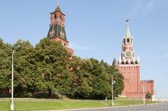 kremlin Moscow góruje Obraz Stock