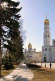 kremlin moscow Lokal för Unesco-världsarv Fotografering för Bildbyråer