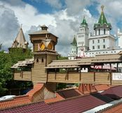 Kremlin in  Moscow. Museum and entertainment complex at Kremlin in Moscow Stock Images