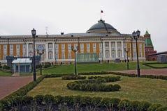 kremlin moscow Nytt territorium som öppnas för besökare Arkivbild