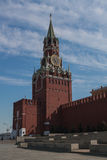 Kremlin (Moscow). One of the towers of Kremlin (Moscow) in summer Stock Photo