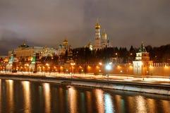 kremlin moscow panorama Royaltyfri Bild