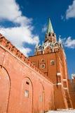 kremlin moscow röd fyrkant Arkivbilder