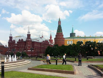 Kremlin Moscow Red Square Historical Museum Royalty Free Stock Photos