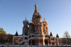 kremlin Moscow Russia Świątobliwa basilu ` s katedra Obraz Royalty Free