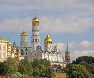 kremlin Moscow Russia Świątobliwego basilu dzwonkowy wierza Obrazy Stock