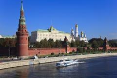 kremlin moscow russia Royaltyfria Foton