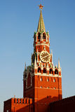 Kremlin (Moscow, Russia). Kremlin, Spasskaya tower, Red Square (Moscow, Russia royalty free stock images