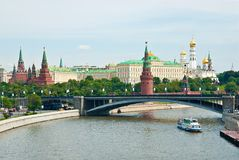Kremlin, Moscow, Russia. Beautiful view of the Kremlin, Moscow, Russia royalty free stock photos