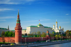 The Kremlin in Moscow Royalty Free Stock Photo