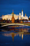 Kremlin. Moscow. Russia. Moscow. Kremlin. Russia. Sunset view form the bride stock image