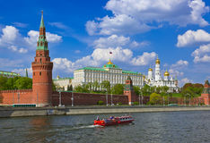 Kremlin - Moscow Russia. Kremlin in Moscow Russia - architecture background royalty free stock photography