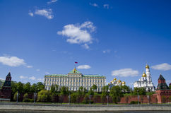 Kremlin, Moscow, Russia daylight scene Royalty Free Stock Photos