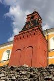 kremlin moscow russia torn Royaltyfri Bild