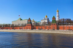 Kremlin in Moscow (Russia) Stock Photography