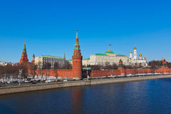 Kremlin in Moscow (Russia) Royalty Free Stock Photo