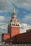 kremlin Moscow spasskaya wierza obraz royalty free