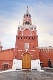 kremlin Moscow spasskaya wierza Fotografia Stock