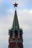 kremlin Moscow spasskaya wierza Fotografia Royalty Free