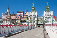 Kremlin in Moscow. Summer sunny day. Royalty Free Stock Photos