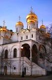 kremlin moscow 19th för domkyrkaårhundrade för annunciation 17 kharkov för stad landmark ukraine blå sky för bakgrund Royaltyfria Bilder