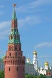 kremlin moscow torn Royaltyfri Bild