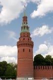kremlin moscow torn Royaltyfri Fotografi