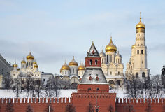 Kremlin in Moscow town. Russia Stock Photography