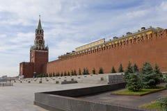 kremlin moscow vägg Royaltyfria Foton