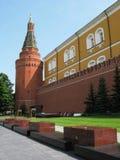kremlin moscow vägg Arkivbild