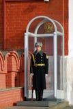 kremlin moscow Vakter av heder Arkivfoto