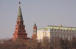 Kremlin in Moskau Stockfoto