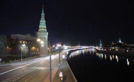Kremlin in Moskau Stockfotografie